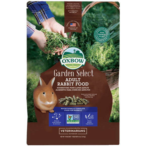 [O281] Oxbow Garden Select Adult Rabbit Food (4lb)