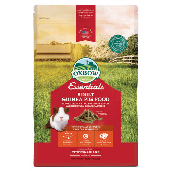 Oxbow Essentials Adult Guinea Pig Food (2 sizes)