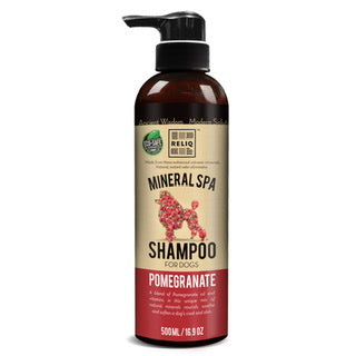 Reliq Mineral Spa Shampoo for Dogs (Pomegranate) 500ml