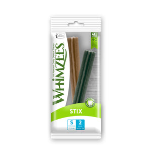 [WHZ616][1Box=45pcs] Whimzees Stix Dental Treats for Dogs (S/2pc/pack)