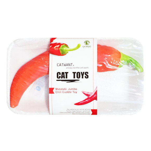 Catwant Catnip Plush Toy for Cats (Chilli)