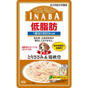 [CRD04] Inaba Low Fat Pouch (Chicken Fillet & Cartilage in Jelly) 80g