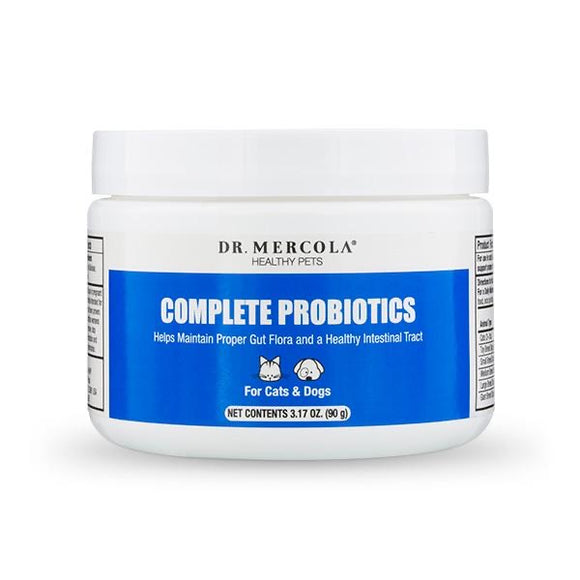 Dr. Mercola's Complete Probiotics for Pets (90g)