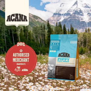 Acana Heritage Puppy Small Breed Dry Food (2 sizes)