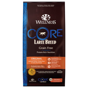 [WN-CoreLB24] Wellness Core Grain Free Large Breed (Original) (Deboned Chicken, Chicken Meal & Turkey Meal) 24lb