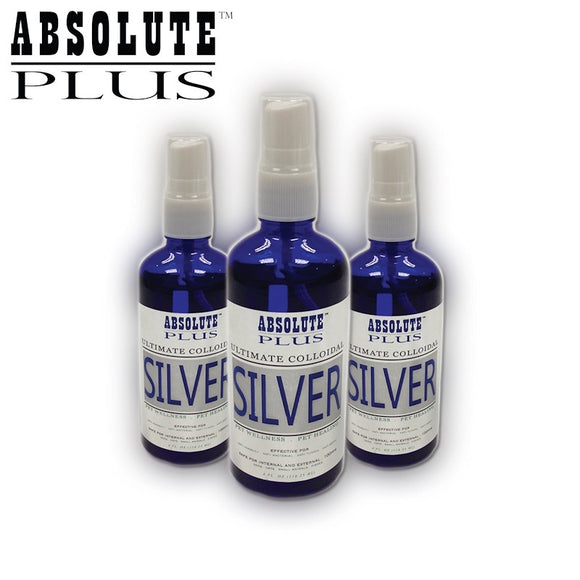Absolute Plus Ultimate Colloidal Silver for Dogs & Cats (118ml)