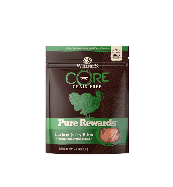 [WN-PRTURK] Wellness CORE Pure Rewards (Turkey Jerky Bites) 4oz