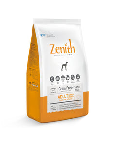 [BWZSB] Bow Wow Zenith Adult Small Breed (Lamb Meat & Potato) Grain Free Dry Food for Dogs 1.2kg (300g x 4bags)