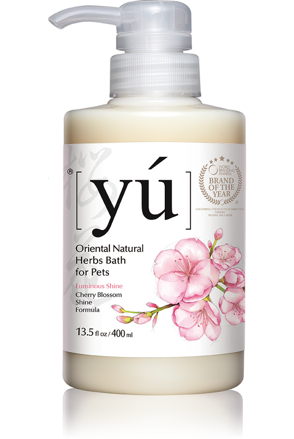 YÚ Oriental Natural Herbal Cherry Blossom Formula Shampoo (400ml)
