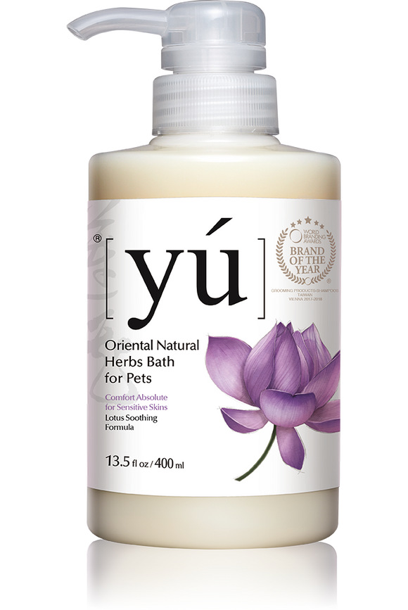 YÚ Oriental Natural Lotus Soothing Formula Shampoo (400ml)