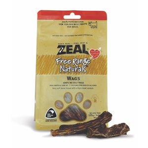 [Buy2Free1] Zeal Free Range Natural Wags Treats for Dogs (125g)