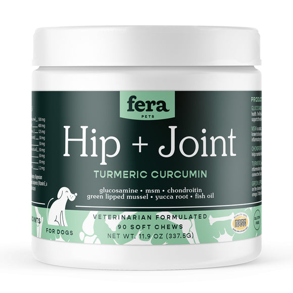 Fera Pet Organics Hip & Joint Supplements for Dogs (12oz)