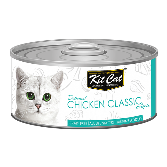 [1carton] Kit Cat Topper Series Canned Food (Chicken Classic) 80g x 24cans