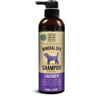 Reliq Mineral Spa Shampoo for Dogs (Lavender) 500ml