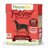 [Buy3free1] Naturediet Feel Good Nutritious Wet Food for Dogs (Chicken & Lamb) 2 sizes
