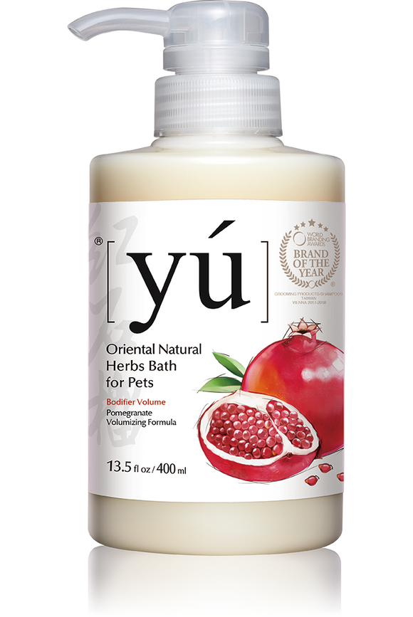 YÚ Oriental Natural Pomegranate Volumizing Formula Shampoo (400ml)