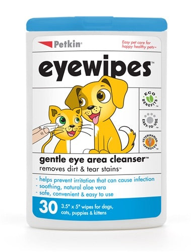 PetKin Eyewipes for Pets (30's)