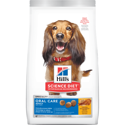 (9281) Hill's® Science Diet® Adult Oral Care Dog Dry Food (4lbs)