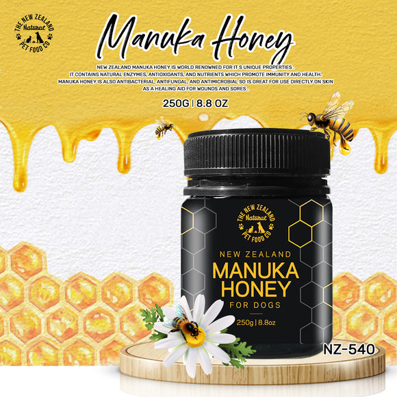 NZ Natural Manuka Honey for Dogs (250g)