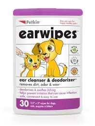 PetKin Earwipes for Pets (30's)