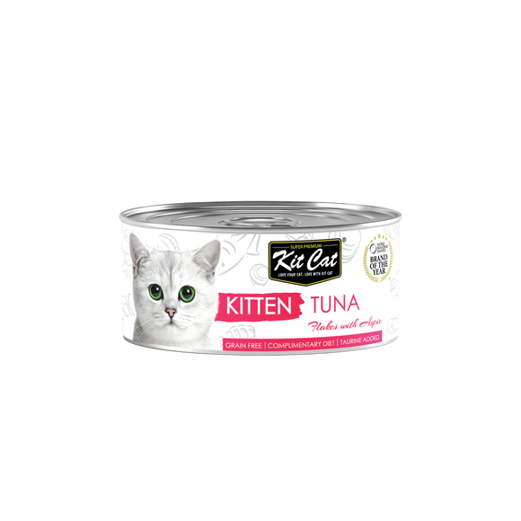[1carton] Kit Cat Topper Series Canned Food (Kitten Tuna) 80g x 24cans