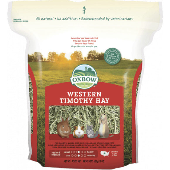 Oxbow Western Timothy Hay (2 sizes)