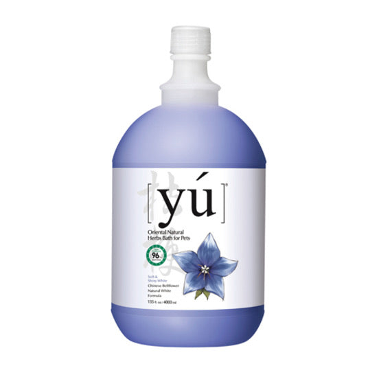 YÚ Oriental Natural Chinese Bellflower Natural White Formula Shampoo (4000ml)