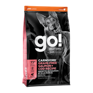 Petcurean Go! Dry Food (Salmon + Cod Recipes) for Dogs (2 sizes)