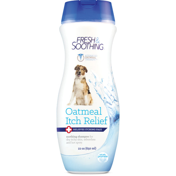 [FSCLSH22Z] Naturel Promise Fresh & Soothing Oatmeal Itch Relief Shampoo For Dogs (22 fl.oz)