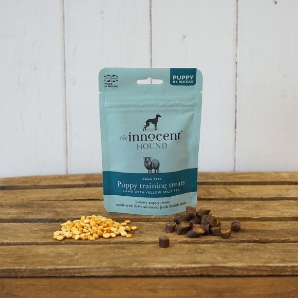 [1109] The Innocent Pet | The Innocent Hound Puppy Training Treats - Lamb with Yellow Split Pea (70g)