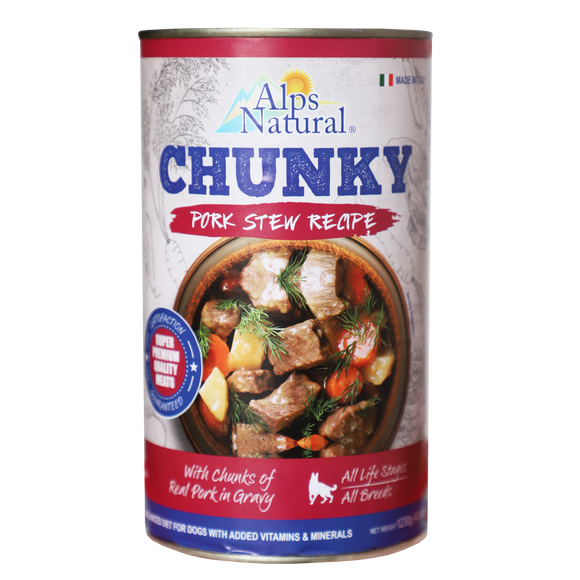 [ALP-560] Alps Natural Chunky Pork Stew (1230g)