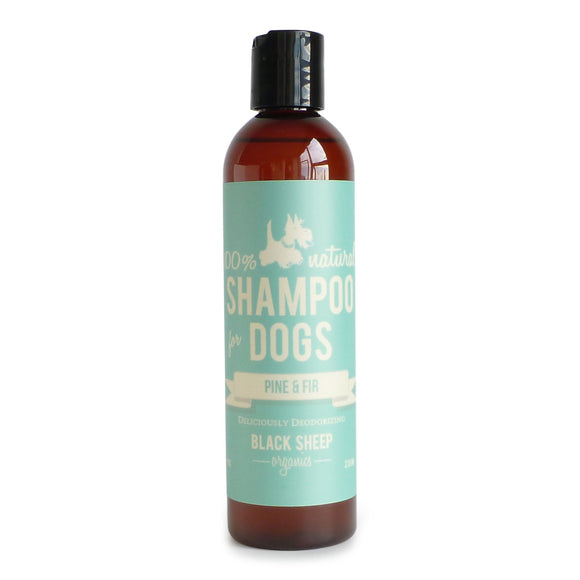 [PINSH8] Black Sheep Organics Pine & Fir Organic Shampoo for Dogs (8oz/236ml)