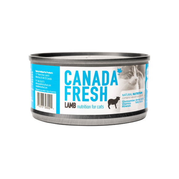 Canada Fresh Lamb Wet Canned Food for Cats (3oz/85g)