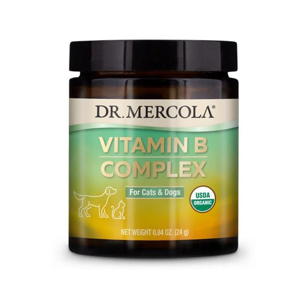 Dr. Mercola's Organic Vitamin B Complex for Dogs & Cats