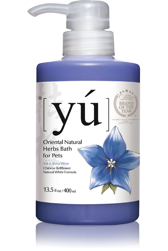 YÚ Oriental Natural Chinese Bellflower Natural White Formula Shampoo (400ml)