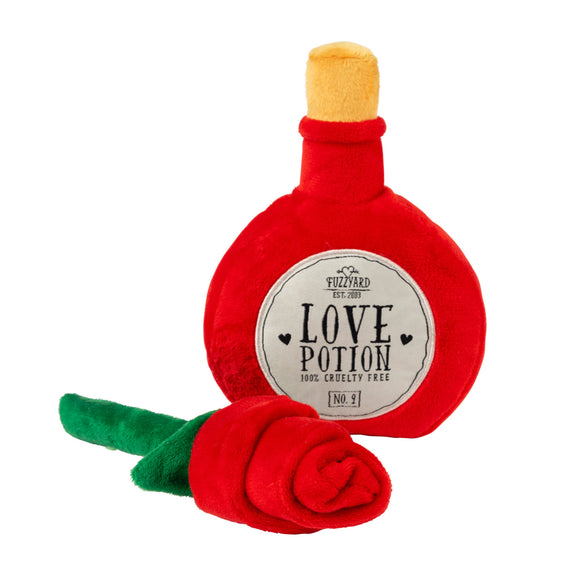 FuzzYard Love Potion/Rose Plush Toy
