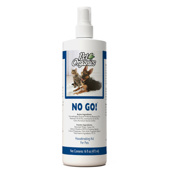 [PO504016] NaturVet Pet Organics No Go! House Breaking Aid for Pets (16floz/473ml)