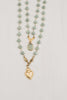 Double Layer Matte Amazonite Necklace