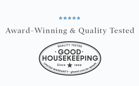 Award-Winning & Quality Tested