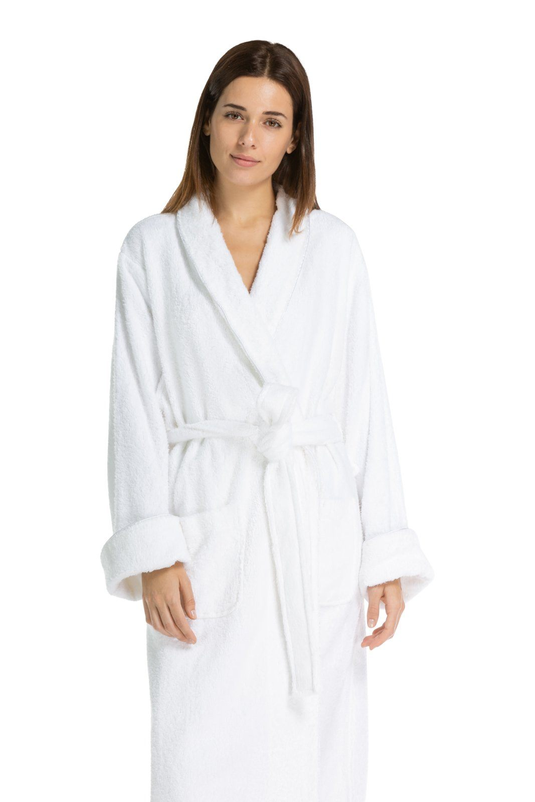 991705f61f Fishers Finery Women s Full Length Resort Terry Cloth Robe