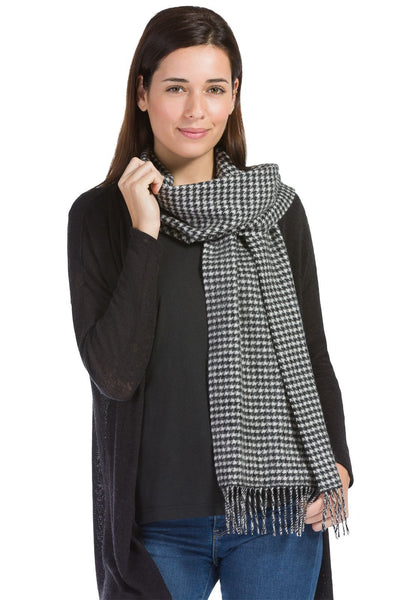 Women's Classic 100% Pure Cashmere Scarf - Fishers Finery