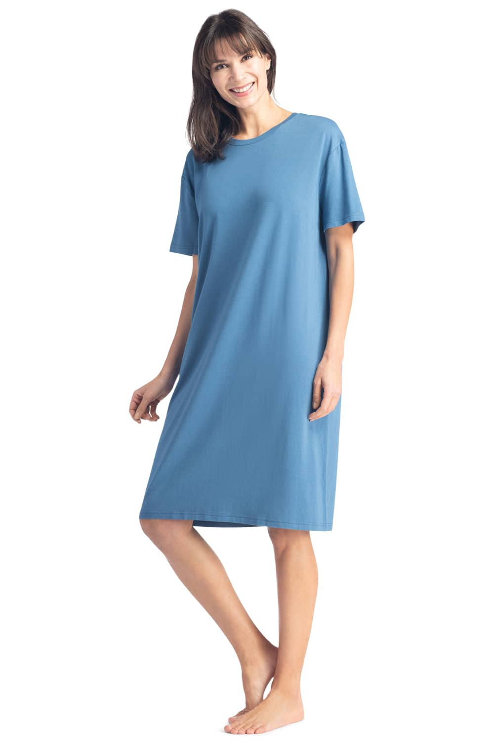 Women's EcoFabric™ Sleep Tee - Relaxed Fit - Fishers Finery