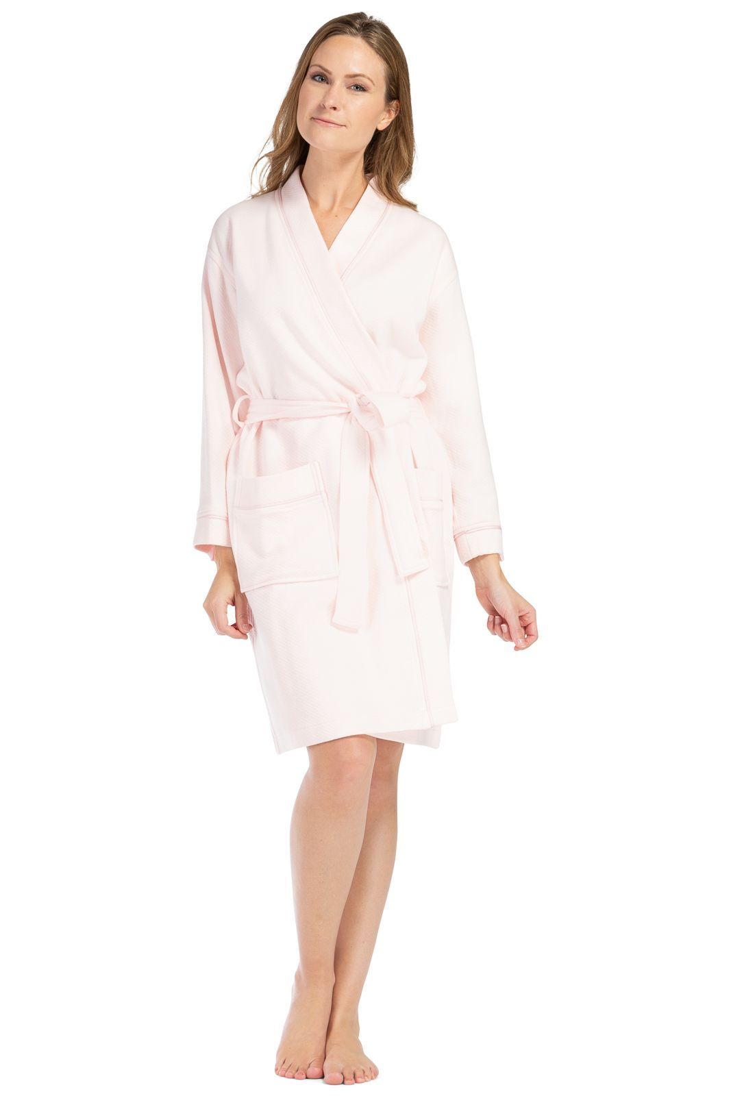 Women's Kimono Resort Spa Robe - Quilted Design - Fishers Finery