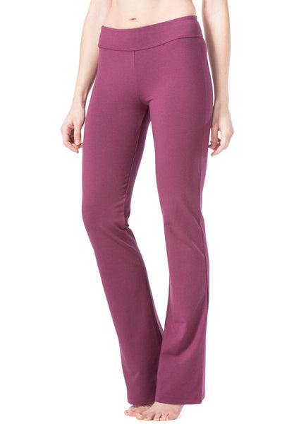 Fishers Finery Women's EcoFabric™ Boot Leg Yoga Pant