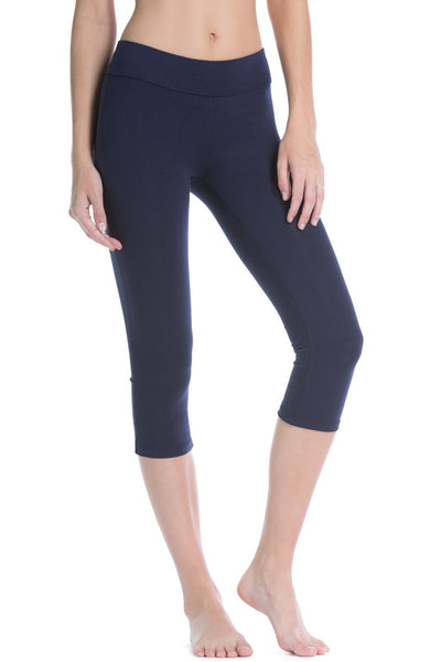Women's EcoFabric™ Yoga Capri Workout Legging - Fishers Finery
