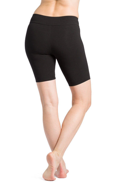 Women's EcoFabric™ Mid-Thigh Yoga Workout Short - Fishers Finery