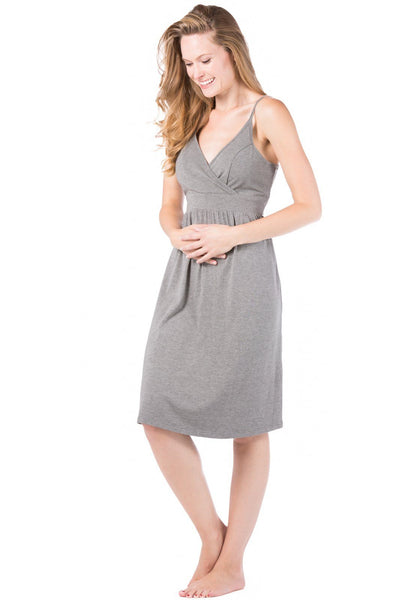 Wireless EcoFabric™ Maternity Nursing Nightgown - Fishers Finery