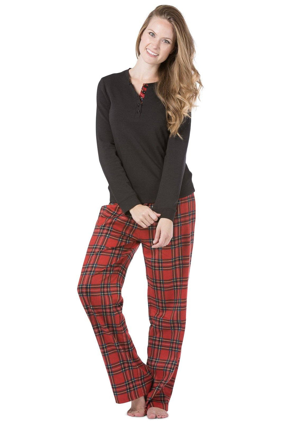 Womens Pajamas In Flannel Silk Organic Cotton Fishers Finery
