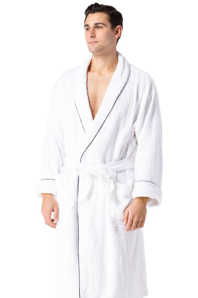 70378a77f0bea Mens Robes | Mens Terry Cloth Robe - Spa Robe | Fishers Finery