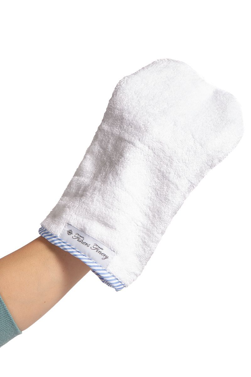 Baby Wash Cloth Bath Mitten | Fishers Finery